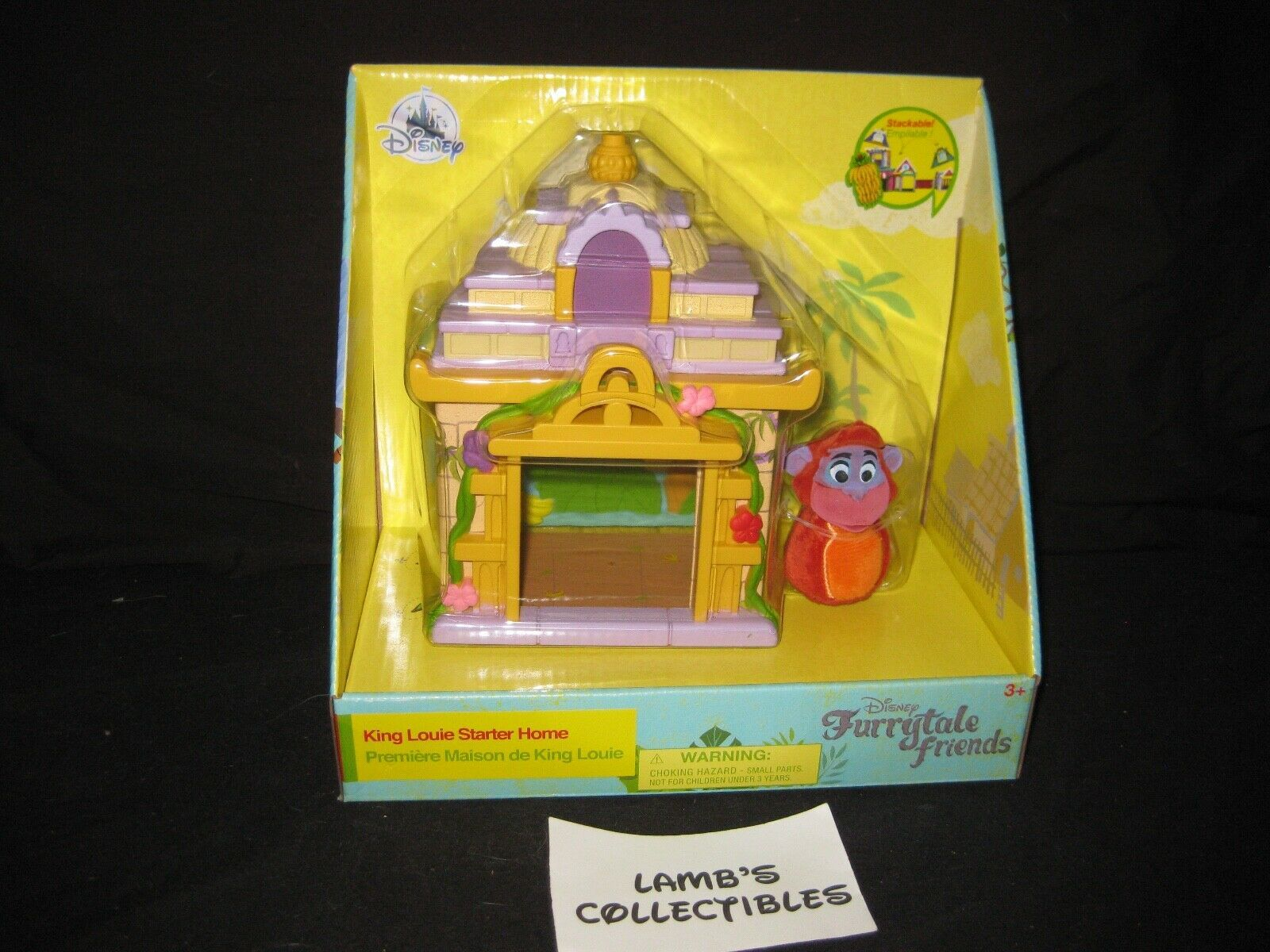 Primary image for ShopDisney Store Authentic FurryTale Friends King Louie Starter home