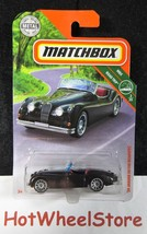 2018 Matchbox  Dark Gray MF  '56 JAGUAR XK 140 ROADSTER   Card #3    MB14-120818 - $2.95