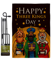 Three Kings Day Burlap - Impressions Decorative Metal Garden Pole Flag S... - $33.97