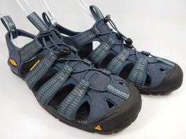 Keen Clearwater CNX Sport Sandals Men's Size 9 M EU 42 Midnight Navy / Gargoyle