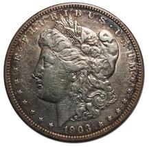 1903 MORGAN SILVER DOLLAR COIN Lot# MZ 4279
