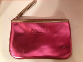 BENEFIT MAKEUP BAG! San Francisco Pink Metallic Bag BRAND NEW :) - $8.91