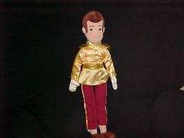 "21"" Disney Prince Charming Plush Doll From Cinderella The Disney Store - $59.39"