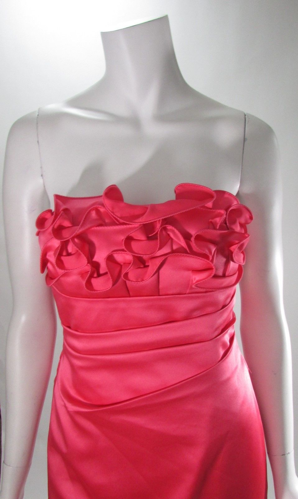 723a662e4a4 Phoebe Couture Coral Ruffle Botice Strapless and 10 similar items