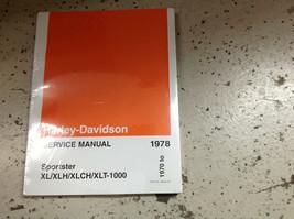 1970 1971 1972 1978 Harley Davidson Sportster XL XLH XLCH-1000 Service Manual  - $197.99