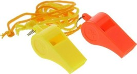 25 Plastic Whistles Lanyard Emergency Survival Prepper Safety Boat Marin... - $17.99