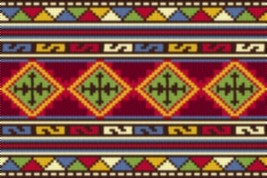Latch Hook Rug Pattern Chart: Odessa - EMAIL2u - $5.75