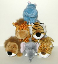 1/2 Price! Russ Berrie Lot of Six Plush Baby Animals Babies - $8.00