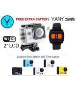 "SILVER AT300 12MP Full HD 30FPS 2"" LCD Waterproof Wifi Action Camera Wri... - $29.99"