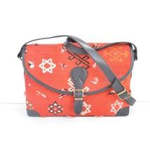 red bags ,rug red bags,Old handbag,rug Postman's bag ,rug and Leather H... - $195.00