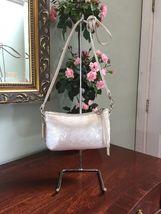 Coach Crossbody Bag Sweetheart Disco Sequin Poppy White Opalescent  44925  B01 image 3