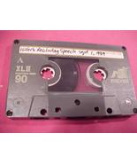 Hitler speech Sept. 1, 1939 and 3rd Reich songs on cassette  - $9.95