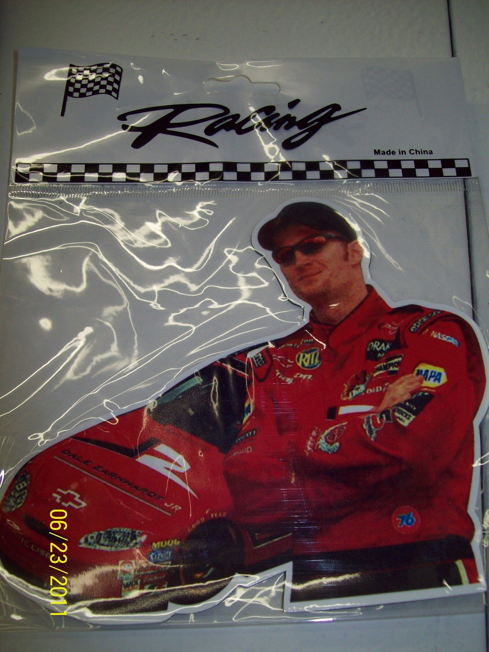Dale Earnhardt and Dale Earnhardt, Jr Racing Magnets (2)
