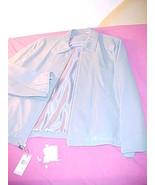 Alfani Lamb Jacket  XL New NWT Mist Lite Blue Reg$375.   - $89.95