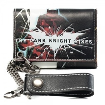 Batman: Dark Knight Rises w/ Chain Wallet Brand NEW! - $27.99