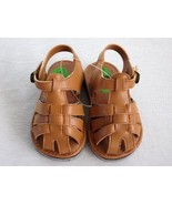 BROWN synthetic rubber Toddler unisex  boy's girl' casual house  sandal ... - $7.99
