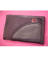 Swiss Gear Leather Tri-Fold  New NWT  - $18.95