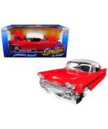 1958 Chevrolet Impala Red Lowrider Series Street Low 1/24 Diecast Model ... - $34.62