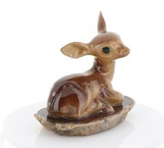 Hagen Renaker Miniature Tiny Deer Baby on Base Stepping Stones #2757 image 8