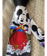 Novelty Mickey Mouse Silk Mens Neck Tie Mickey Unlimited Handmade  - $16.95
