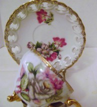 Vintage Ucagco Footed Cup & Saucer - $8.00