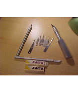 X-acto set 17 blades 3 cutters  - $10.78