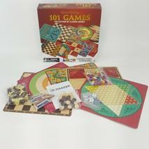 Cardinal 101 Classic Board Games Chess Ludo Parcheesi Backgammon Checkers 30302 - $19.99
