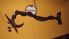 """Rare Snake 1940 painted Cast lamp apothecary German shop trade sign 23"""" - $257.40"""