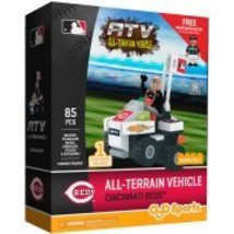 OYO Sports MLB All-Terrain Vehicle with Super Fan Building Set, Cincinna... - $42.28