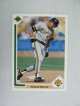 Orlando Merced Pittsburgh Pirates 1991 Upper Deck Baseball Card 84 - $0.98