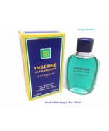 INSENSE Ultramarine Givenchy Cologne for Men EDT Spray  3.3 oz New in Box - $75.23