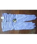 Vintage Max Mayer's Gloves Woman's Size 7 Lilac - $12.95