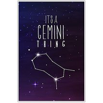 It's A Gemini Thing Astrology Zodiac Wall Art - $12.38