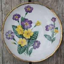 Old Salisbury England Bone China Saucer Primroses - $5.00