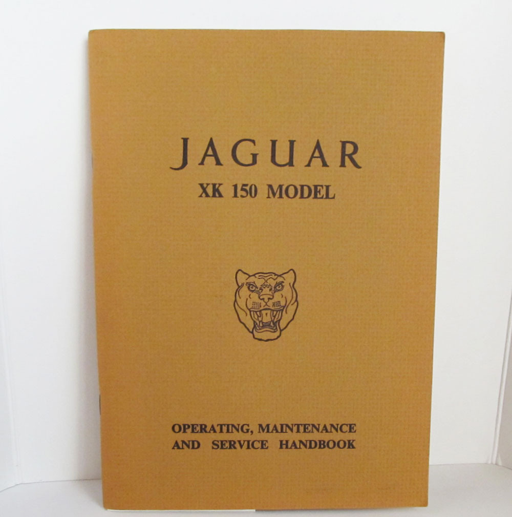 Jaguar car manual 1
