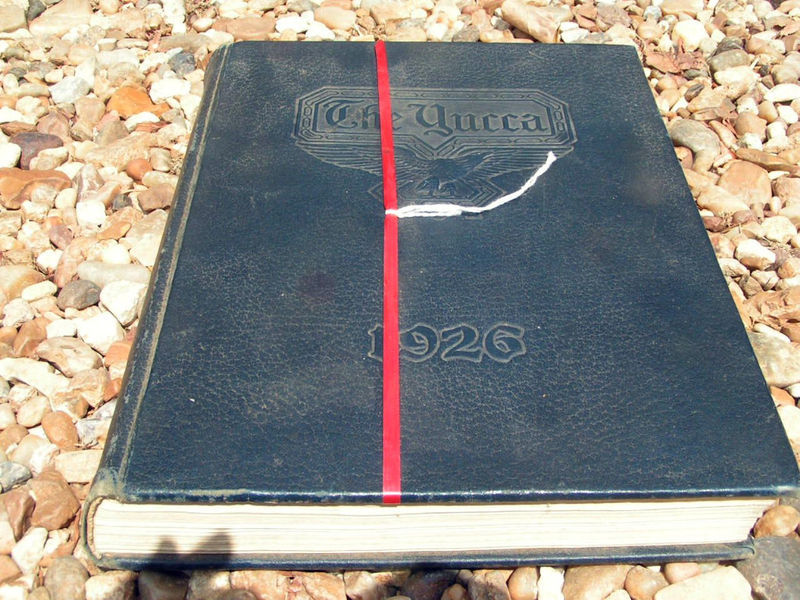 Primary image for 1926 Yucca North Texas State Teaches College Denton Yearbook bz