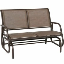 Outdoor Swing Glider Chair, Superjare Patio Bench For 2 Person, Garden R... - $219.99+