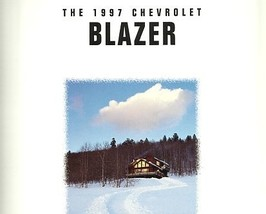 1997 Chevrolet BLAZER sales brochure catalog US 97 Chevy S-10 - $6.00