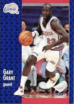 Gary Grant ~ 1991-92 Fleer #89 ~ Clippers - $0.05