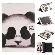 Leather Panda Magnetic Smart Pattern Wallet Stand Cover Case for iPad &S... - $14.99
