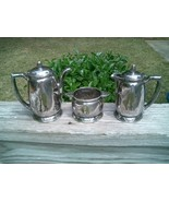 1931 WALDORF ASTORIA INTERNATIONAL SILVER 3 PIECE SERVER SET - $250.00