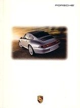 1996 Porsche 911 CARRERA deluxe brochure catalog US 96 4 4S TURBO 993 - $12.00