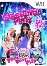 Sleepover Party (Nintendo Wii, 2010) - $6.60