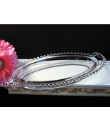 Vintage Imperial Glass Candlewick Oval Handled Relish Tray Depression El... - $39.99