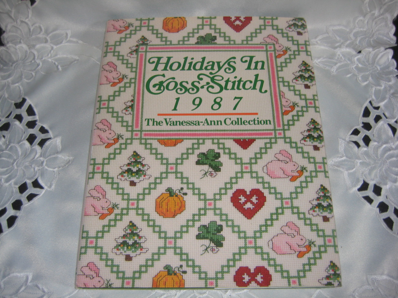 Holidays in Cross-Stitch 1987 Hardcover Book