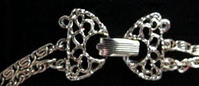 Vintage Goldette Amber Etched Crystal Cameo Pendant