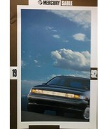 1992 Mercury SABLE brochure catalog US 92 LS GS Wagon HUGE - $9.00