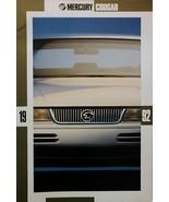 1992 Mercury COUGAR sales brochure catalog US 92 LS XR7 HUGE - $9.00