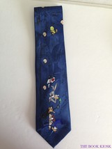 Mens Neck Tie Looney Tunes Taz Bugs Daffy Road Runner Tweety Sylvester C... - $21.49