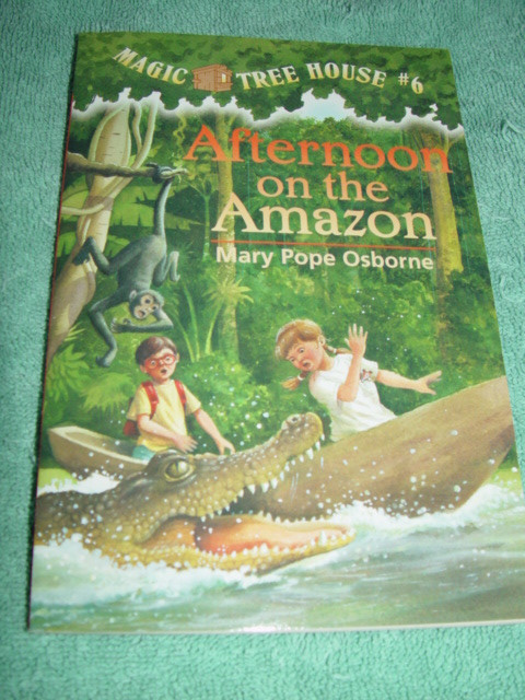 Afternoon On The Amazon Mary Pope Osborne 1995